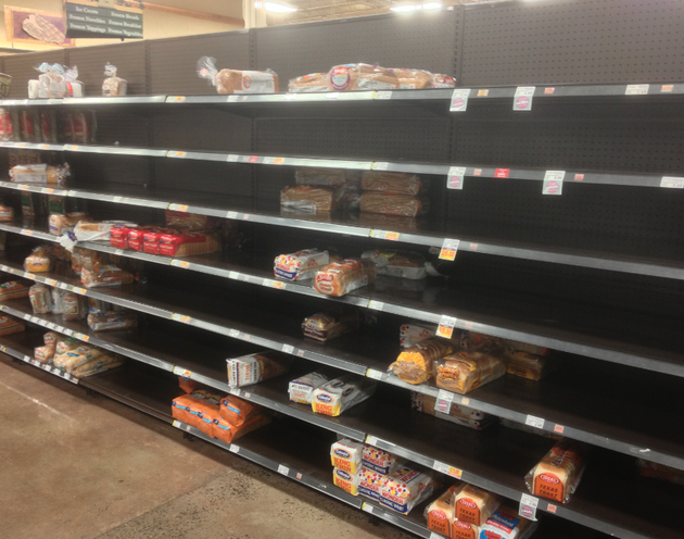 the-bread-aisle-at-the-hillcrest-kroger-wasnt-bare-thursday-morning-but-supplies-were-dwindling