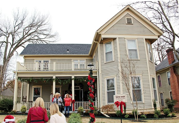 attendees-of-the-christmas-tour-of-historic-homes-leave-the-former-home-of-lucretia-lutie-maxfield-wilson-a-batesville-resident-who-kept-a-civil-war-diary-that-included-accounts-of-the-military-occupations-and-actions-in-and-around-batesville