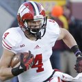 Wisconsin wide receiver Jared Abbrederis runs upfield against Minnesota on Saturday, Nov. 23, 2013. ...