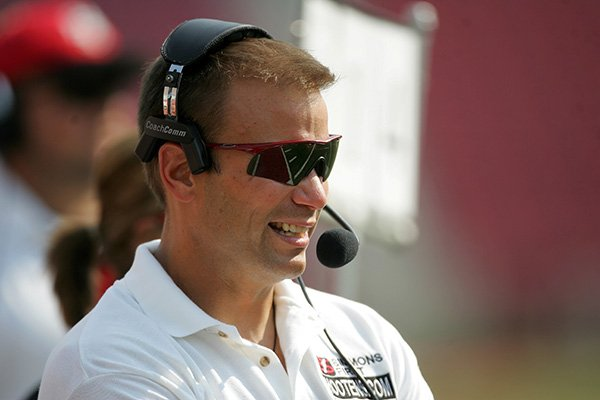 heber-springs-head-coach-steve-janski-during-a-2011-game-against-shiloh-christian-at-razorback-stadium-in-fayetteville