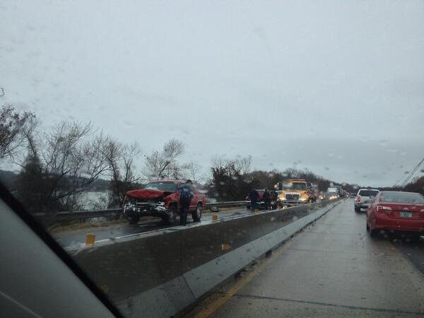 a-car-wreck-on-eastbound-interstate-40-in-pope-county-is-causing-major-traffic-delays-on-saturday-dec-21-2013