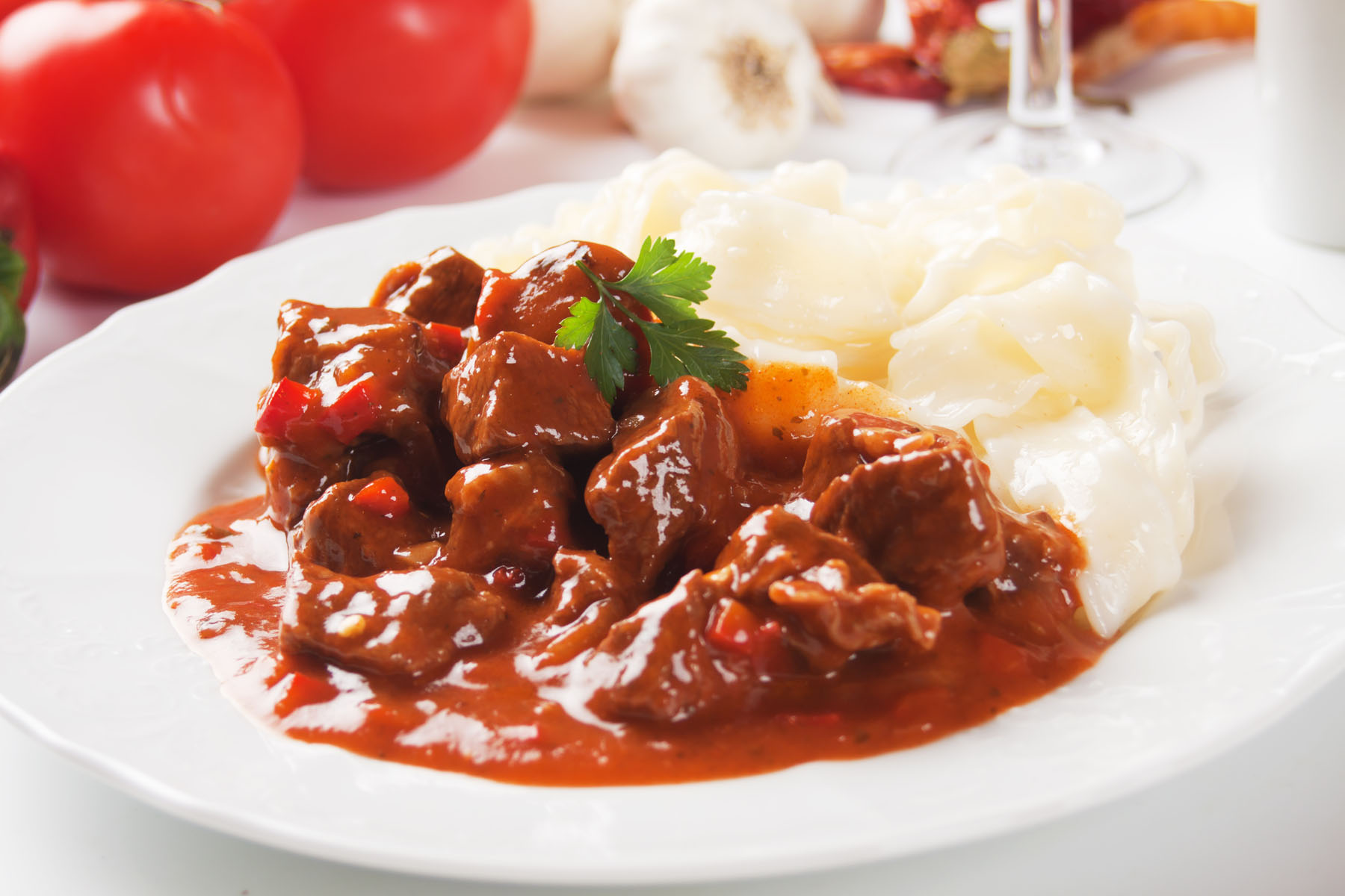 goulash beef goulash with dumplings beef stew with beer and paprika ...