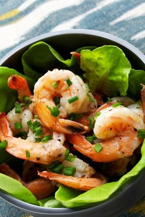 Spiced Skillet Shrimp