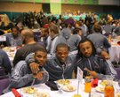 ASU's football team Friday in Mobile, Alabama