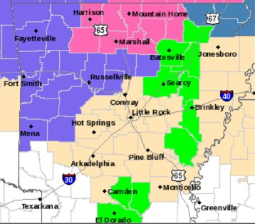 national-weather-service-forecasters-said-a-strong-cold-front-sweeping-arkansas-will-carry-a-mix-of-winter-precipitation-into-the-northern-half-of-the-state