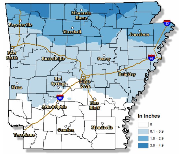 areas-in-north-arkansas-will-receive-at-least-1-inch-of-snow-accumulations-national-weather-service-forecasters-said-sunday