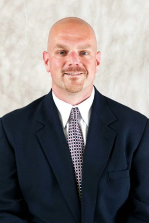 Rory Segrest, new defensive line and specialists coach at Arkansas.