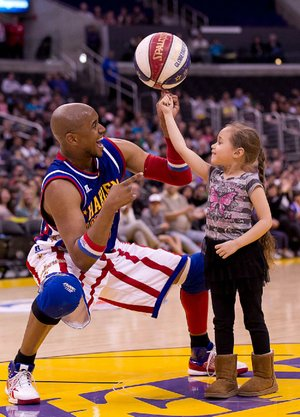 The Harlem Globetrotters return to North Little Rock's Verizon Arena Feb. 25.