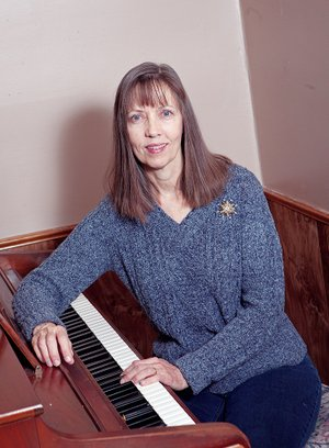 Joan Hanna not only directs the Conway Women's Chorus and is the musical director of the Conway Dinner Theater, but she also teaches piano and has recently been hired as a substitute teacher for the Greenbrier School District.