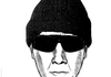 A police sketch of a suspect in a 1997 rape in Rogers.