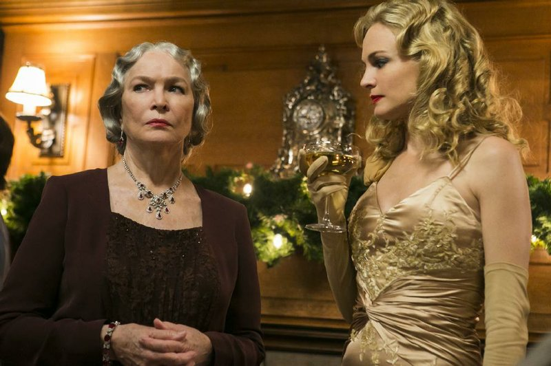 Ellen Burstyn (left) and Heather Graham star in the Lifetime movie Flowers in the Attic at 7 p.m. Saturday.