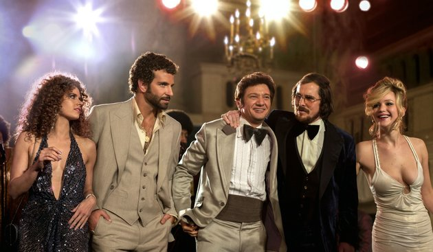 this-film-image-released-by-sony-pictures-shows-from-left-amy-adams-bradley-cooper-jeremy-renner-christian-bale-and-jennifer-lawrence-in-a-scene-from-american-hustle-the-film-was-nominated-for-an-academy-award-for-best-picture-on-thursday-jan-16-2014-the-86th-academy-awards-will-be-held-on-march-2