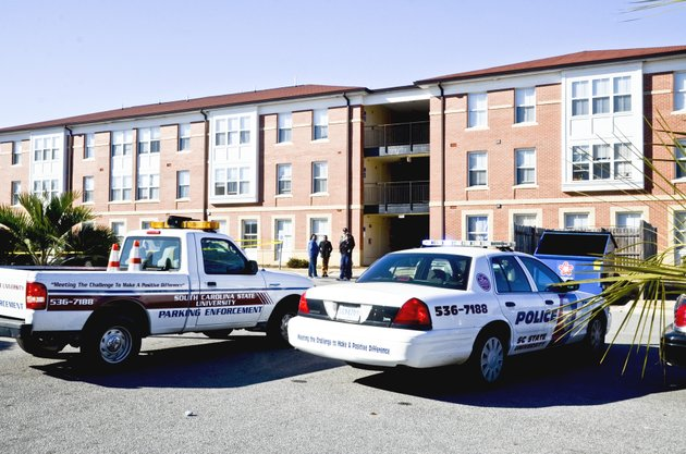 south-carolina-state-universitys-hugine-suites-was-the-scene-of-a-fatal-shooting-friday-jan-24-2014-a-student-was-shot-and-killed-friday-outside-an-on-campus-dormitory-at-south-carolina-state-university-and-police-were-looking-for-four-men-who-left-campus-ap-phototimes-democrat-larry-hardy