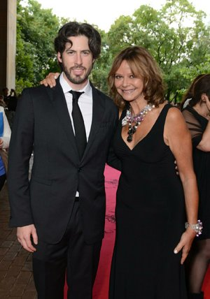 Joyce Maynard (shown here with Jason Reitman, who directed the movie version of her novel Labor Day) says she's pleased with the result — although she'd be most gratifi ed if the movie led more people to read her book.