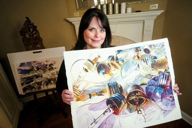 carrie-waller-of-cabot-a-watercolor-artist-has-had-her-work-selected-for-the-small-works-on-paper-exhibit-that-will-travel-the-state-throughout-the-year