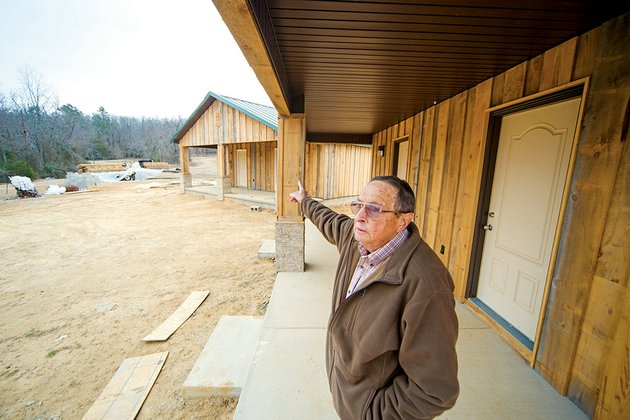 milton-webb-of-vilonia-points-out-the-features-of-camp-aeropagus-in-conway-a-nonprofit-organization-the-camp-will-be-overseen-by-the-mars-hill-church-of-christ-in-vilonia-webb-said-but-the-camp-will-be-open-to-all-denominations-he-said-the-community-may-use-the-facilities-for-events-such-as-family-reunions-more-facilities-will-be-built-on-the-site-webb-said-the-103-acres-was-donated-by-a-member-of-the-church