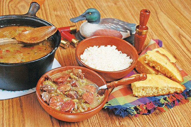 spicy-cajun-gumbo-is-a-type-of-stew-often-made-with-wild-game-duck-is-the-main-ingredient-in-this-delicious-gumbo-that-is-flavored-with-andouille-sausage