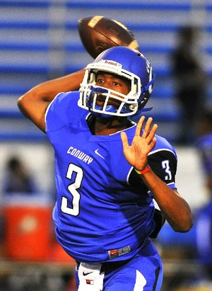 Conway QB Breylin Smith. All-Metro Sophomore of Year