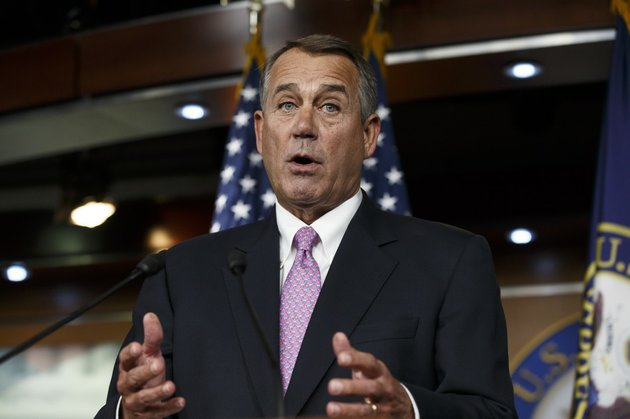 house-speaker-john-boehner-of-ohio-speaks-during-a-news-conference-on-capitol-hill-in-washington-on-thursday-feb-6-2014-boehner-said-thursday-that-it-will-be-difficult-to-pass-immigration-legislation-this-year-dimming-prospects-for-one-of-president-barack-obamas-top-domestic-priorities