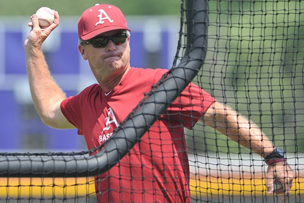 Dave Van Horn is entering his 12th season as head coach at Arkansas.