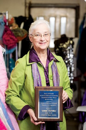 Corrine Weatherly has been inducted into the Arkansas State Fair Hall of Fame by the Arkansas Fair Managers Association.