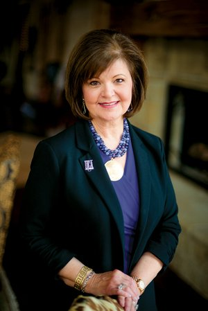 Kay Hinkle of Mountain View was recently elected chairwoman of the University of Central Arkansas Board of Trustees. This marks the 10th year she has served as a member of the board. Her current term will expire in January 2018.