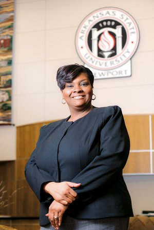 Jacqueline Faulkner is the new vice chancellor for student affairs at Arkansas State University-Newport. Her first day in the position was Feb. 3. A Southern native, she grew up in Mississippi and received her undergraduate education at Jackson State University before continuing her education at the University of Memphis.