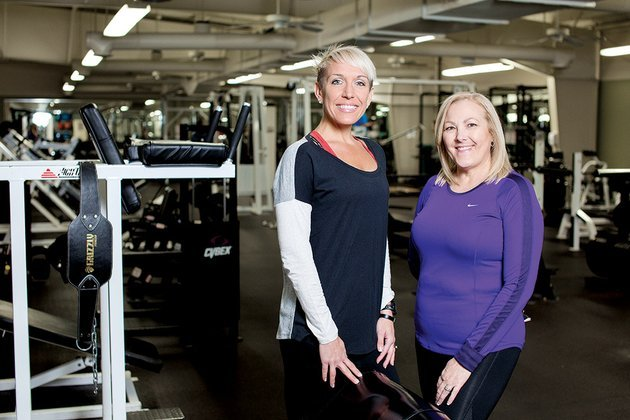 trainer-amanda-castillo-left-worked-with-sherrie-hartzell-54-at-conway-regional-health-and-fitness-center-to-overcome-her-fear-of-exercise-after-hartzell-had-a-heart-attack-and-bypass-surgery-in-2009-at-age-49-february-is-american-heart-month-heart-disease-is-the-no-1-killer-of-women-according-to-the-american-heart-association