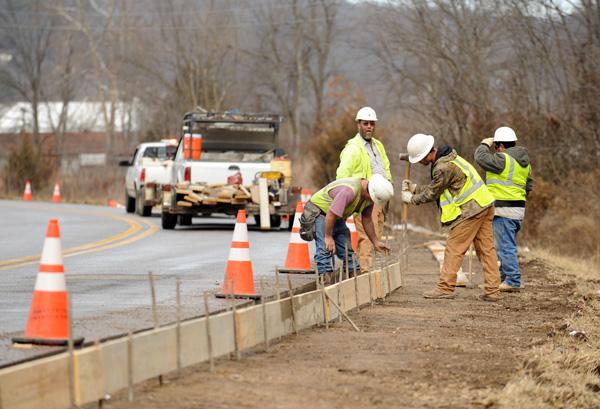 Fayetteville street paving plan set nwadg for Paving planner