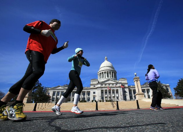 the-annual-little-rock-marathon-will-have-a-general-start-time-of-8-am-march-2-in-downtown-little-rock