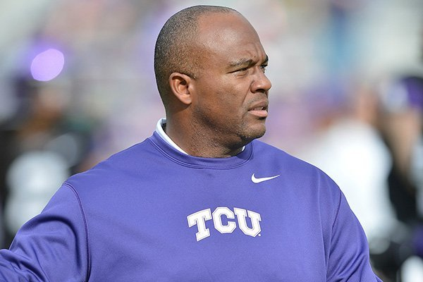 Clay Jennings was hired as Arkansas' defensive backs coach after spending six seasons at TCU.