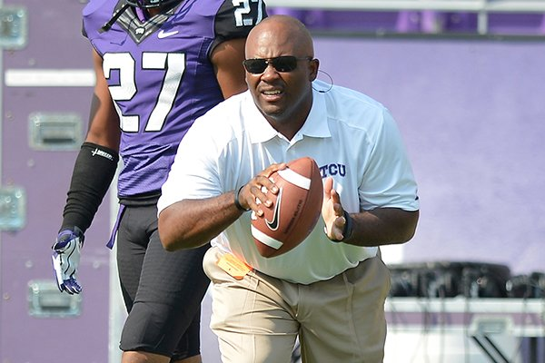 clay-jennings-was-hired-as-arkansas-defensive-backs-coach-after-spending-six-seasons-at-tcu