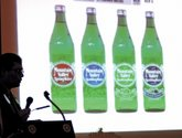 The Sentinel-Record/Mara Kuhn ROTARY PRESENTATION: Breck Speed, chairman and CEO of Mountain Valley Spring Water, told members of the Hot Springs National Park Rotary Club on Wednesday that the company is in a unique position in the bottled water business.