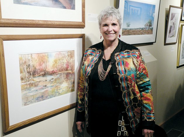 conway-artist-sheila-parsons-tally-received-the-doris-wmson-williamson-mapes-memorial-award-in-the-mid-southern-watercolorists-44th-annual-juried-exhibition-parsons-tally-won-the-award-and-635-for-her-painting-spider-creek-4