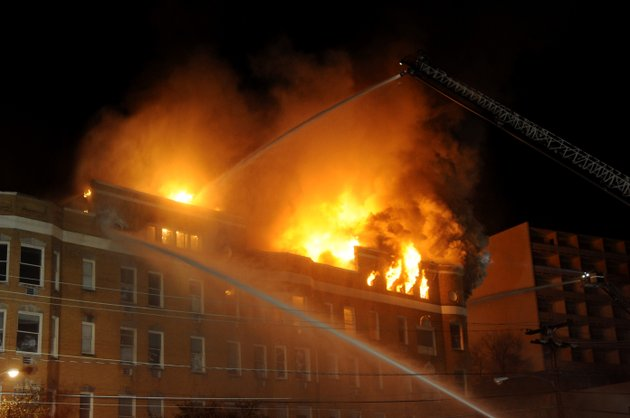 hot-springs-fire-department-firefighters-battle-a-blaze-at-the-vacant-majestic-hotel-thursday-february-27-2014