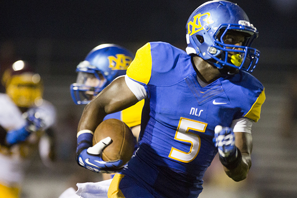 NLR receiver takes up-close look at Razorbacks