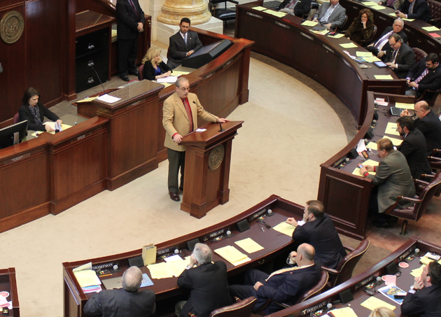 rep-kim-hammer-r-benton-speaks-to-the-state-house-of-representatives-tuesday-before-a-vote-on-the-private-option