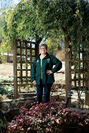 Mary Howard of Higden has been named the Cleburne County Master Gardener of the Year for 2013.