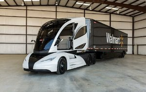 Wal-Mart's concept hybrid truck, called the Walmart Advanced Vehicle Experience (WAVE), won't be on the road anytime soon.