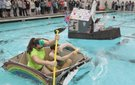 Great Cardboard Boat Regatta 2014