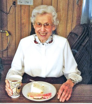 COURTESY PHOTO Faith missionary Carol McCormick will celebrate her 90th birthday March 18. A 1949 graduate of Moody Bible Institute in Chicago, the teacher continues to lead women's Bible studies from her home in Springdale.