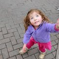 Madeline Anderson, 3, dances to live music Friday, March 7, 2014, during Midway to St. Patrick's Day...