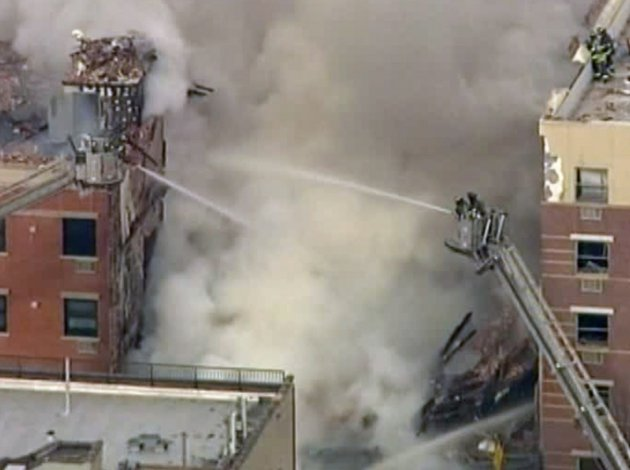 in-this-image-taken-from-video-from-wabc-firefighters-battle-a-blaze-at-the-site-of-a-possible-explosion-and-building-collapse-in-the-east-harlem-neighborhood-of-new-york-on-wednesday-march-12-2014
