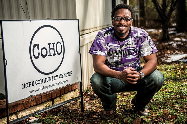city-of-hope-outreach-founder-phillip-fletcher-of-conway-said-the-unseen-campaign-launched-march-1-is-about-creating-awareness-that-homeless-people-exist-and-exploring-why-they-are-homeless-as-well-as-raising-funds-for-hope-shelter-the-shelter-is-in-oakwood-village-a-mobile-home-park-in-conway-and-is-primarily-used-by-homeless-men-fletcher-said-unseen-t-shirts-are-for-sale-on-the-campaign-website-wwwconwaysunseenweeblycom