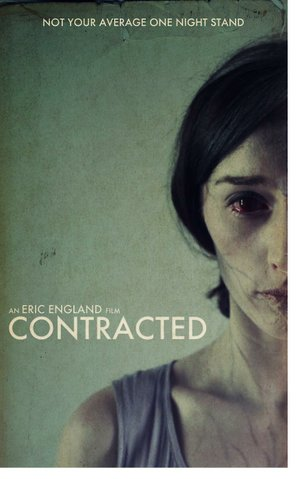 Movie poster for Eric England's Contracted