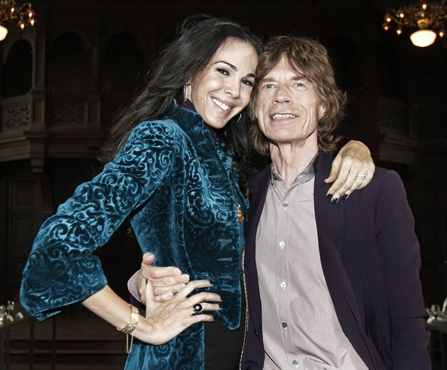 this-feb-16-2012-file-photo-shows-singer-mick-jagger-right-with-designer-lwren-scott-after-her-fall-2012-collection-was-modeled-during-fashion-week-in-new-york-scott-a-fashion-designer-was-found-dead-monday-march-17-2014-in-manhattan