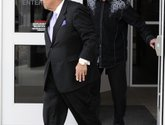 The Associated Press JAILBIRD JIM: Attorney James Voyles, left, and Indianapolis Colts owner Jim Irsay leave the Hamilton County Jail Monday in Indianapolis. Irsay was released from jail Monday after being held overnight following a traffic stop in which police said he failed sobriety tests and had multiple prescription drugs inside his vehicle. Irsay was pulled over late Sunday after he was spotted driving slowly near his home in suburban Carmel, stopping in the roadway and failing to use a turn signal.