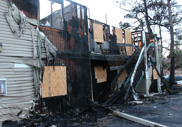 fire-damage-is-seen-thursday-morning-march-20-2014-at-the-normandy-place-apartments-at-7111-indiana-ave-in-little-rock
