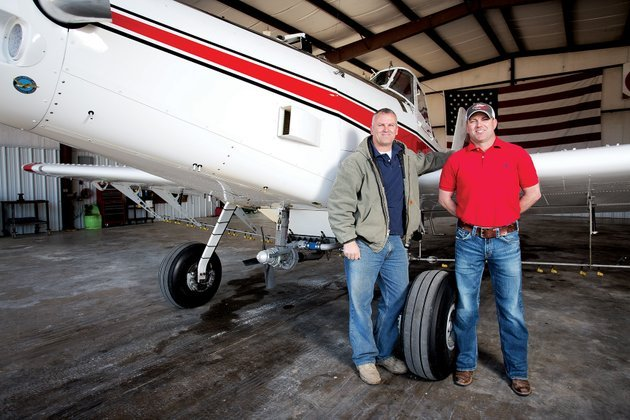 david-freppon-left-and-jp-freppon-are-agriculture-pilots-for-freppon-flying-service-in-bald-knob-the-brothers-grew-up-working-with-their-father-who-is-also-a-pilot-on-their-farm-outside-of-bald-knob