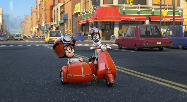mr-peabody-and-his-boy-sherman-take-a-journey-through-time-in-the-computer-animated-fi-lm-mr-peabody-sherman-it-came-in-first-at-last-weekends-box-office-and-made-almost-22-million